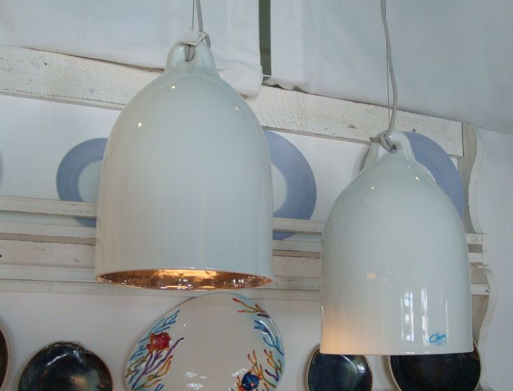 Handmade porcelain lights