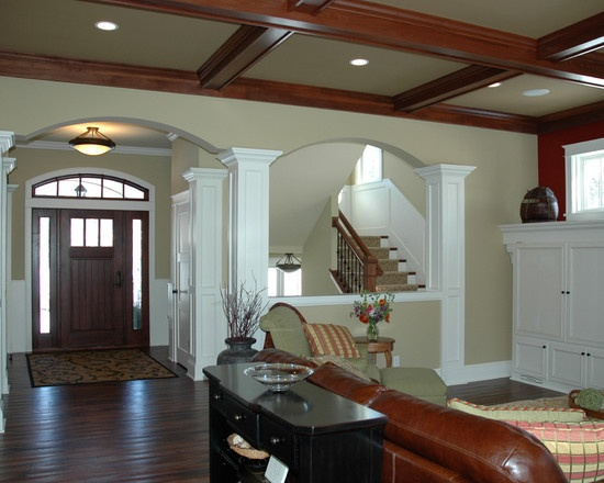 Half Wall Design Pictures Remodel Decor And Ideas Page 46 Pillars Stone Walls House