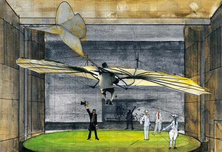 El escenógrafo Alejandro Luna expone en el Museo Nacional de Arquitectura una amplia muestra de su trabajo creativo.  Cortesía Museo Nacional de Arquitectura