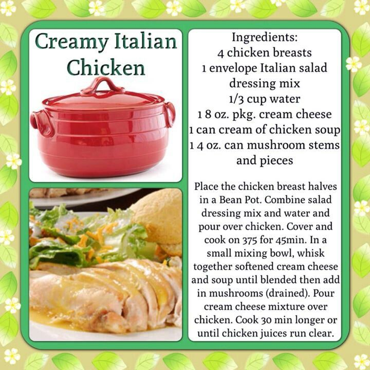 74 best bean pot recipes images on pinterest bean pot beans and bean pot cooking with brandy solis creamy italian chicken forumfinder Image collections