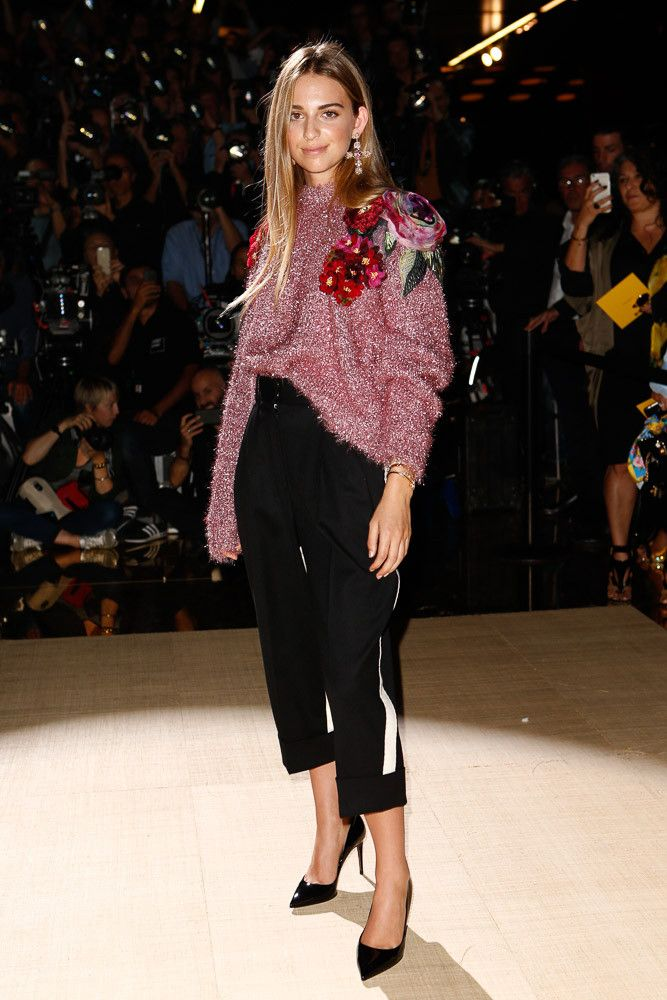 Talita von Furstenberg - When you're the granddaughter of Diane von  Furstenberg, it's a given that you'll know a thing or two about fashion, and  Talita von ...