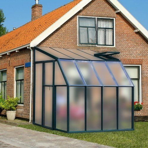 Rion Sunroom Translucent 6 42 X 8 5 Ft Lean To Green Dual