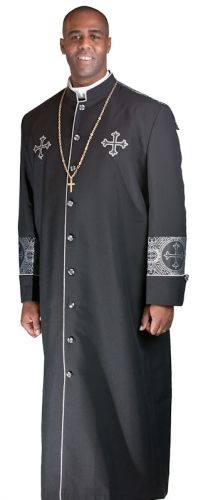 Clergy Robes for Sale | ... BLACK-BLACK/SILVER « Catalog Products « Shop « Mercy Robes