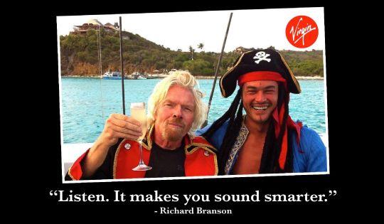 Richard Branson's Top 12 Tips for Entrepreneurs