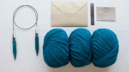 réaliser un snood en tricot