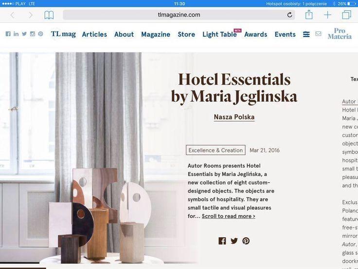 PION X HOTEL ESSENTIALS | MARIA JEGLIŃSKA FOR AUTOR ROOMS