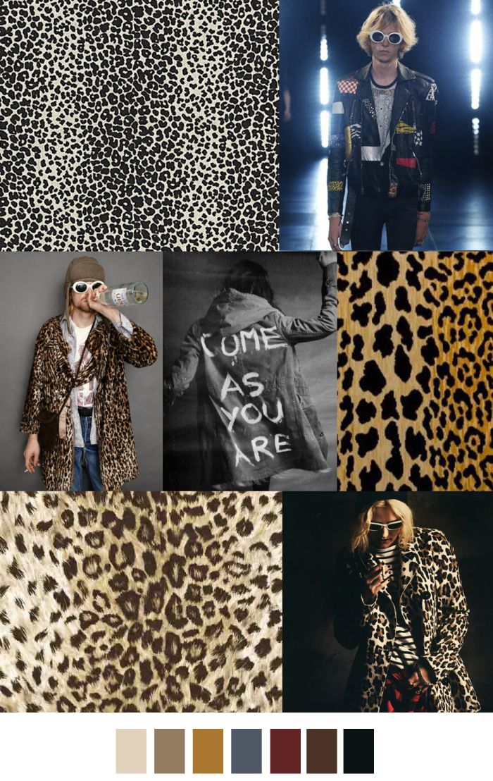 COME AS YOU ARE - A|W 17 fashion trend. Color and pattern palette. For more follow www.pinterest.com/ninayay and stay positively #inspired