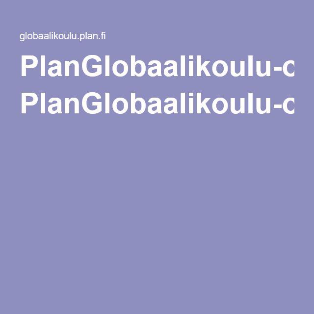 PlanGlobaalikoulu-oppimisympäristö