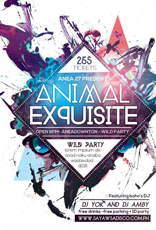 Animal Exquisite Flyer