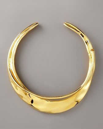 Alexis BittarBeautiful Jewelry, Jewelry Inspiration, Bittar Necklaces, Collars Necklaces, Bittar Gold, Gold Orbit, Gold Collars, Orbit Collars, Alexis Bittar