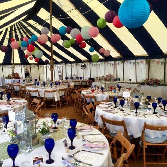 Festive fair theme wedding