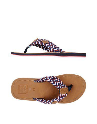 GIOSEPPO Men's Toe strap sandal Dark blue 10 US