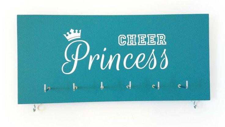 "Jade ""Cheer Princess"" medal holder"