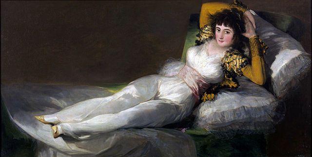 Francisco Goya- La Maja vestida - 1800