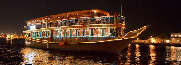 The Rustar Floating Restaurant (Dubai Creek, Dubai)