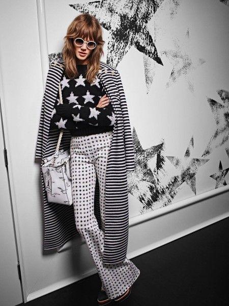 Freha Beha Erichsen Channels 70's Style for Max Mara Ads