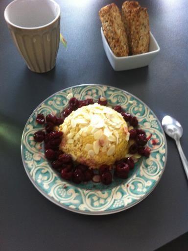 Bowl cake aux flocons d'avoine - Recette de cuisine Marmiton : une recette