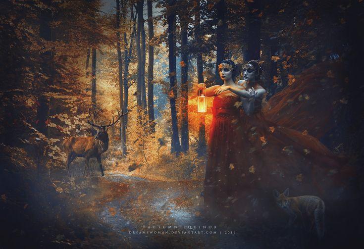 Autumn Equinox by dreamswoman.deviantart.com on @DeviantArt