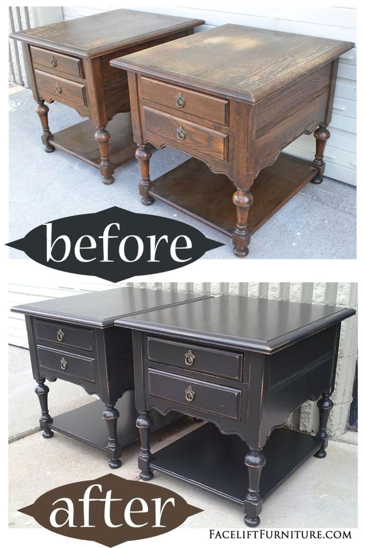 Black End Tables With Drawer Image Result For Shabby Chic End Tables Home Furniture Oak