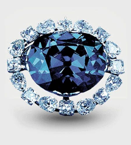 The Hope Diamond - The most famous Cursed Diamond that exists - Would you dare wearing it?