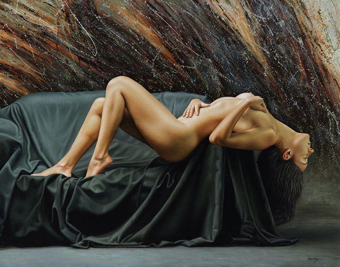 Les peintures hyper-réalistes de Omar Ortiz ! 7da6a0c1ad271cc8c760f95ebc70aebd