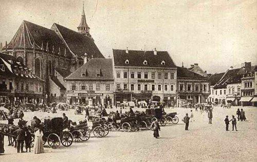 Brasov - Piata Centrala - Antebelica