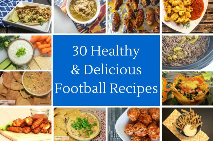 Friday Five:  Favorite Healthy Football Food | Slender Kitchen