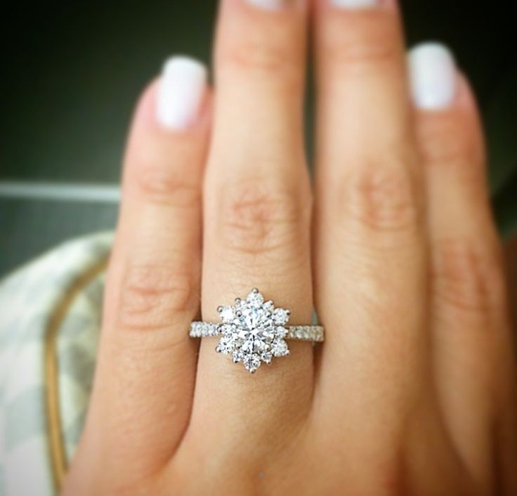 Does the Delight Lady Di engagement ring make you want to say 'I do'?! @heartsonfireco