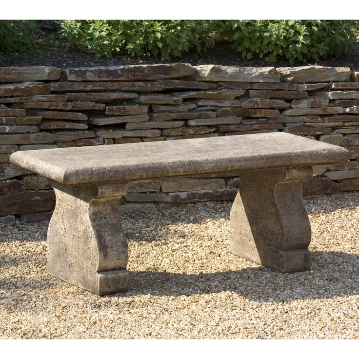 25 best ideas about stone garden bench on pinterest garden bench seat white garden bench and Stone garden bench