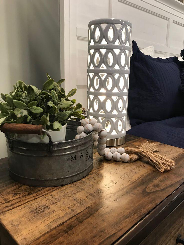In Lauren's bedroom design she used the Bay Creek White