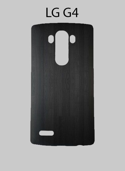 Dark Wood Bamboo Textures LG G4 Case Cover