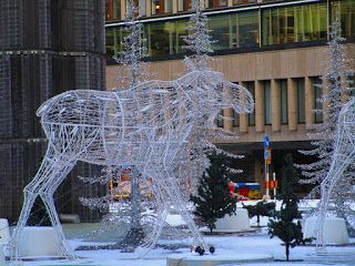 Satu Ylävaara Portfolio : Hirvittävää menoa... Old pagan symbols of Scandinavia