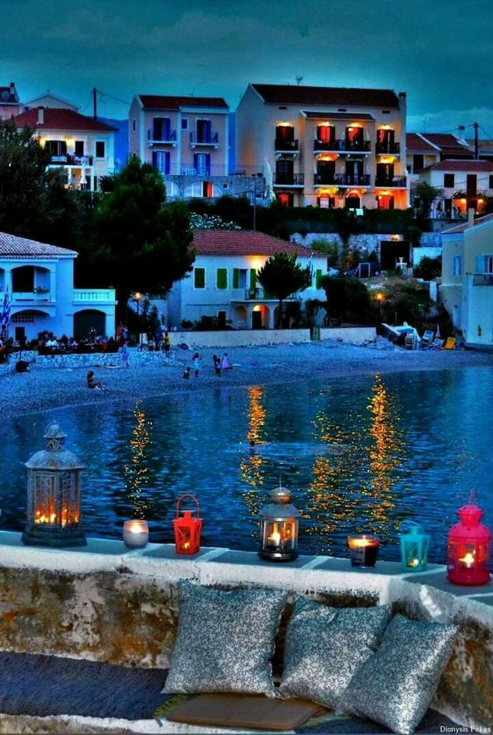 Assos, Kefalonia island, Ionian Sea, Greece