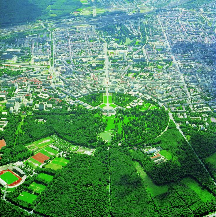 Fächerstadt Karlsruhe, Fan-shaped city Karlsruhe #travel
