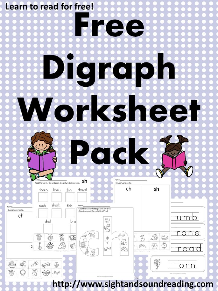 206 best life skills images on pinterest bugs school and activities free digraph worksheets for both beginning and ending sounds fandeluxe Images