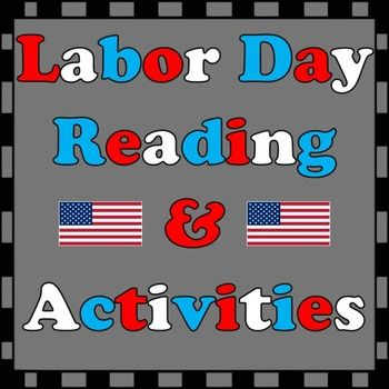 Lesson #2: students will be able to state the history of Labor Day, its importance, and what Labor Day means for them