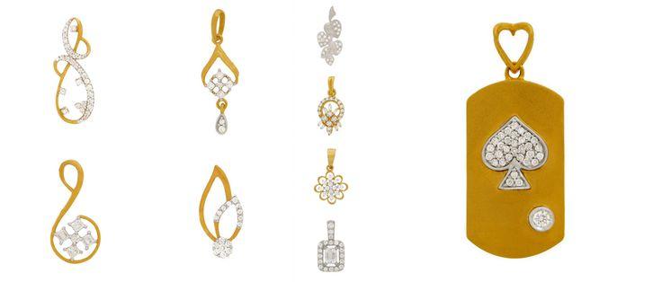 Latest Designs in Diamond Pendants...