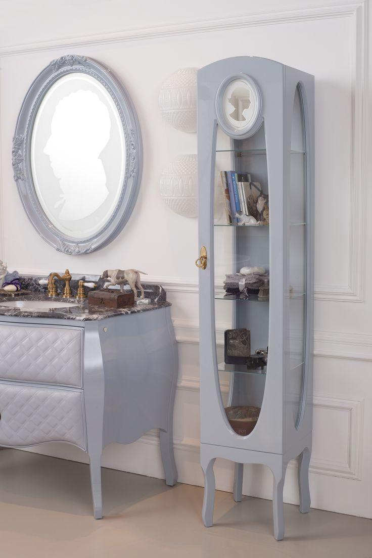 Cameo, bathroom furniture by Ypsilon