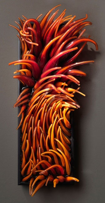 Shayna Leib Art Glass Sculpture: