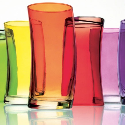 Leonardo glass tumblers from Red Candy