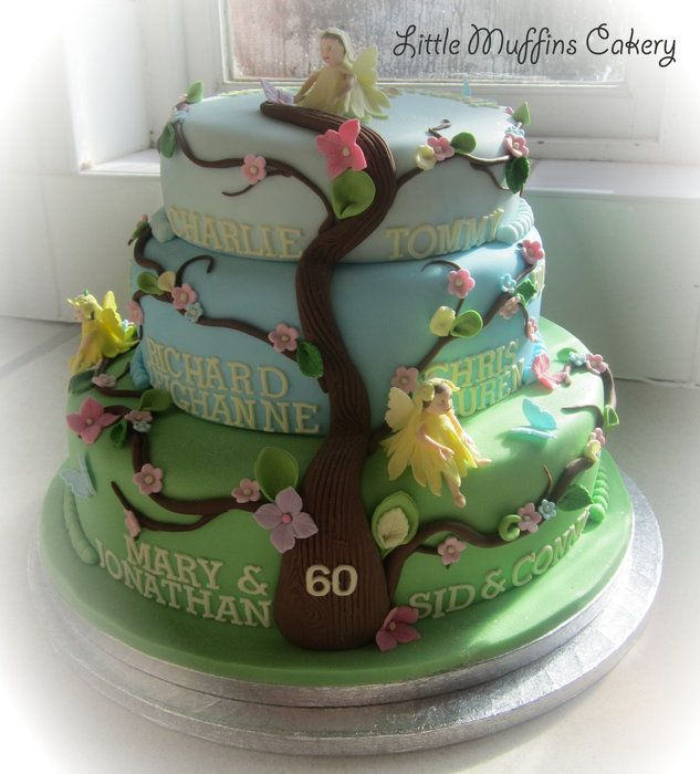 Best Reunion Cake Idea Images On Pinterest Family Trees - Family birthday cake ideas