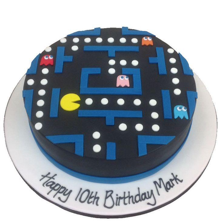 The Cake Store - Arcade Pacman Cake, £110.00 (https://www.thecakestore.co.uk/arcade-pacman-cake/)