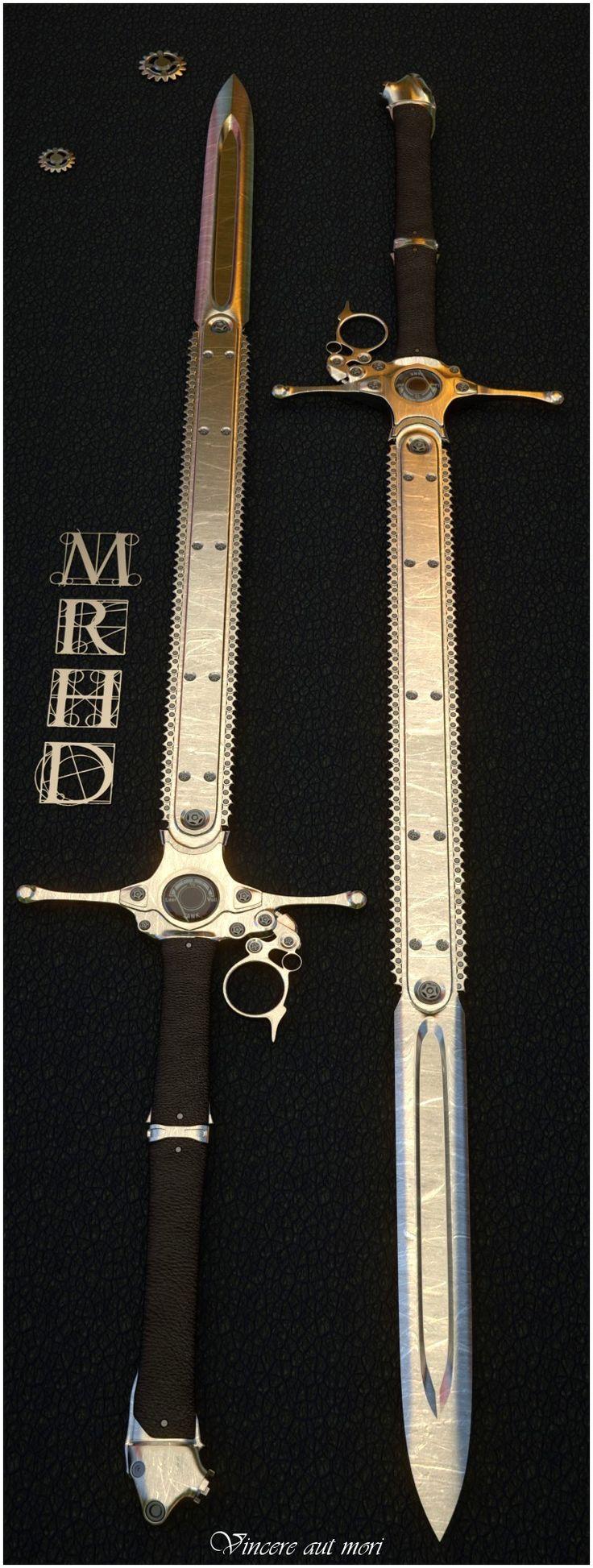 Chain-sword by mrhd.deviantart.com on @deviantART