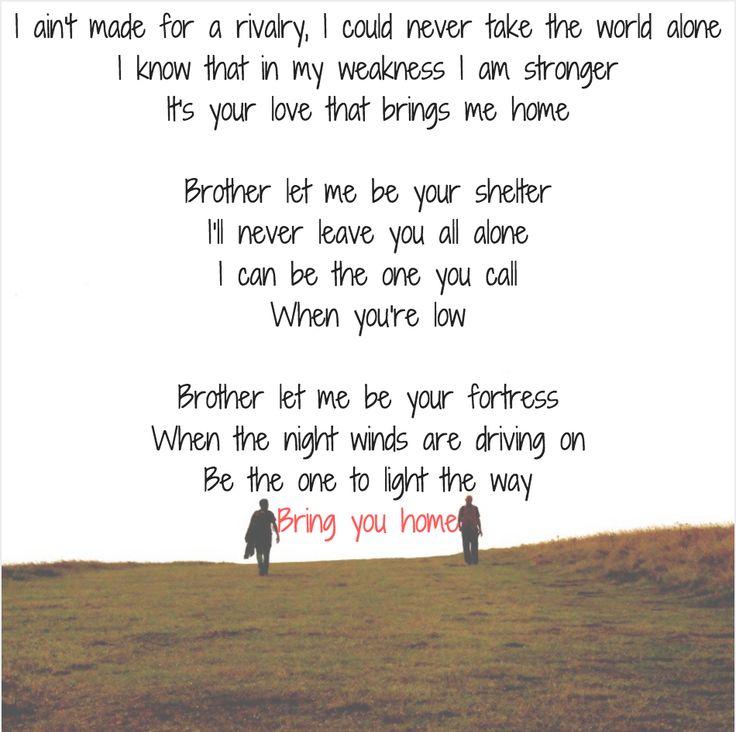 """""""Brother"""" needtobreathe lyrics"""