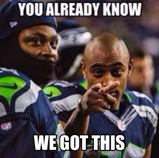 Seattle Seahawks - Marshawn Lynch (RB) & Doug Baldwin (WR)