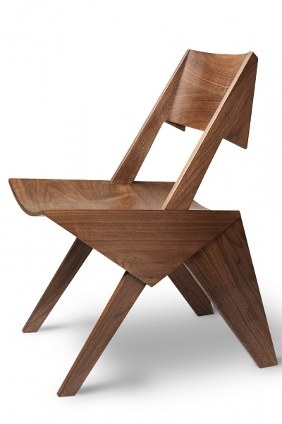 love this chair! I need to show this to my dad so he can make on for me! :)  Khai Liew Lavis Chair