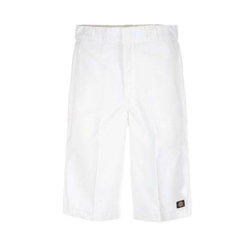 Dickies 13 Inch Short White