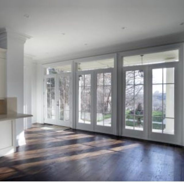 Wall of french doors for the home pinterest for French doors with side windows that open