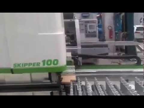 Centro di lavoro a CNC - Biesse Skipper 100 L