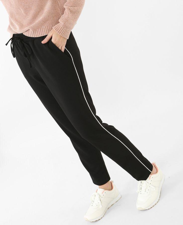 PIMKIE. Pantalones jogging amplios con bandas. 11,99€